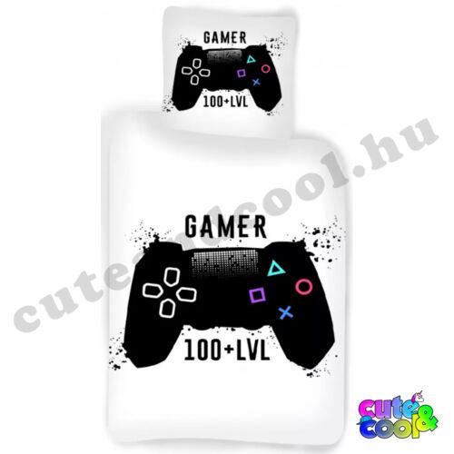 Gamer 100+ LVL ágyneműhuzat - Pamut