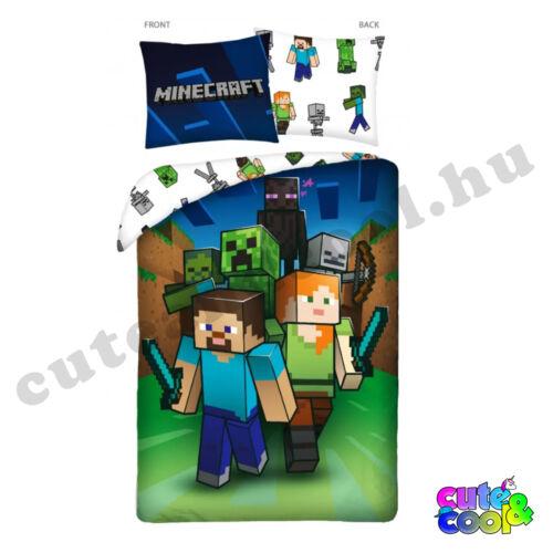 Minecraft The Battle ágyneműhuzat - Pamut