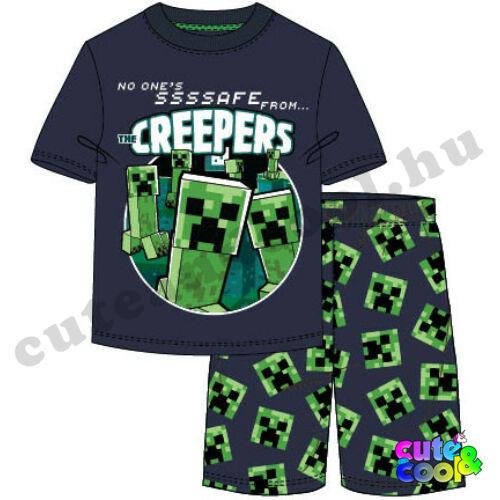 Minecraft Creeper gyerek pizsama