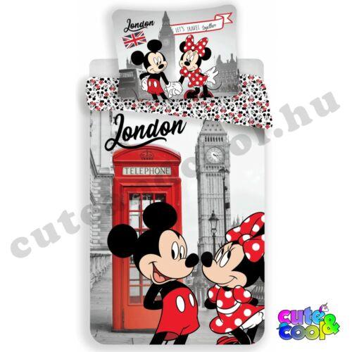 Minnie & Mickey London Ágyneműhuzat - Pamut