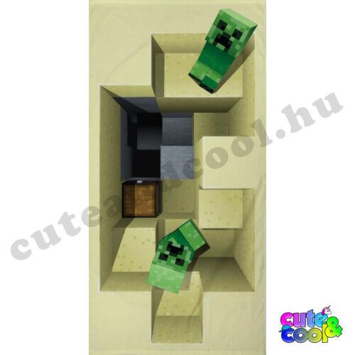 Minecraft strandtörölköző, fürdőlepedő - Pamut