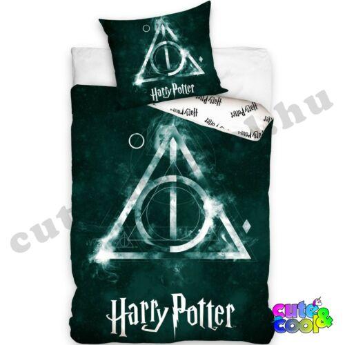 Harry Potter- Halál ereklyéi ágyneműhuzat - Pamut