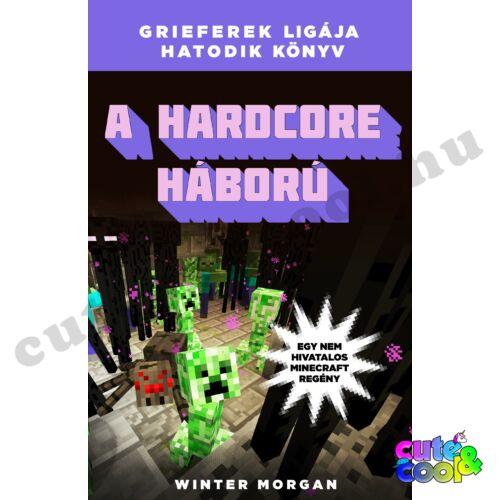 Minecraft A hardcore háború - Könyv