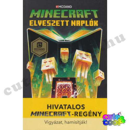 Minecraft - Elveszett naplók - Könyv