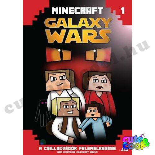 Minecraft - Galaxy Wars 1 - A csillagvédők felemelkedése - Könyv