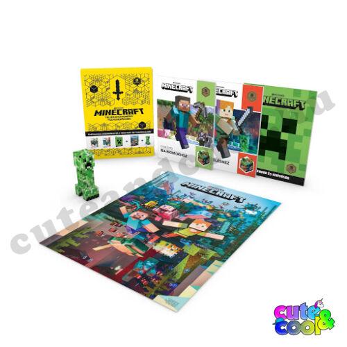 Minecraft - Teljes Gyűjtemény Felfedezőknek - Könyvcsomag