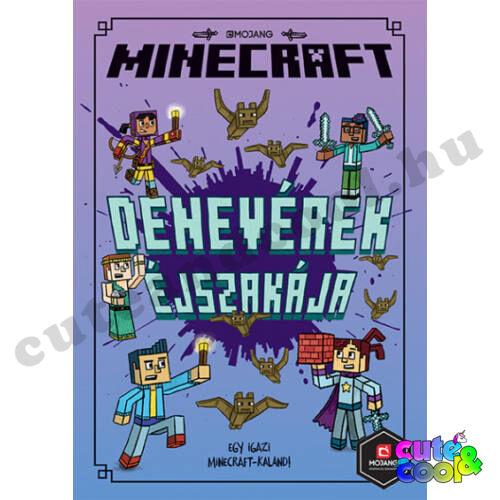 Minecraft - Woodsword Krónikák 2 - Denevérek Éjszakája - Könyv