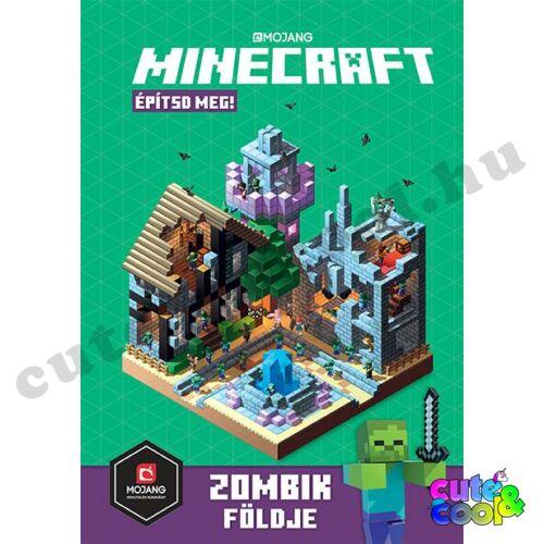Minecraft - Építsd meg! - Zombik földje - Könyv