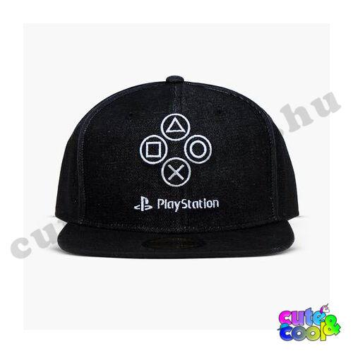 PlayStation denim Snapback sapka