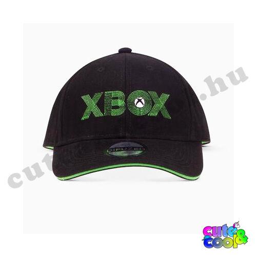 XBOX fekete-zöld baseball sapka