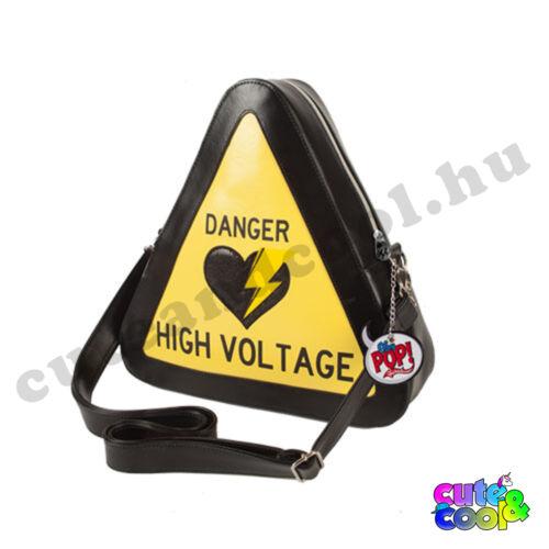 Danger High Voltage oldaltáska