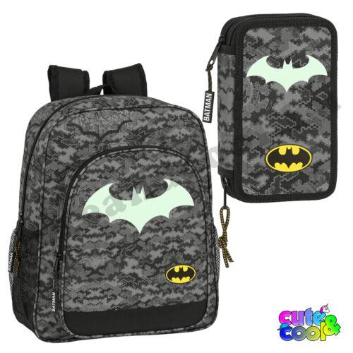 Batman foszforeszkáló iskolatáska és tolltartó