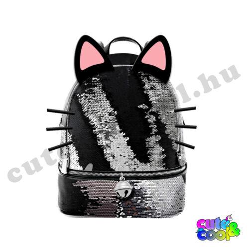 Oh My POP! - Wow Cat flitteres hátizsák