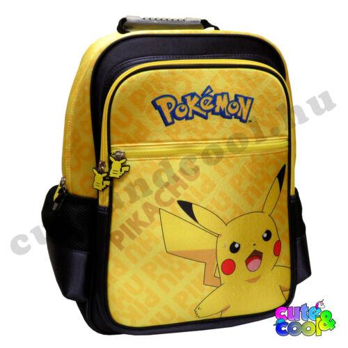 Pokémon Pikachu sárga iskolatáska