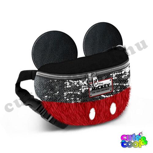 Mickey Mouse flitteres-szőrmés övtáska