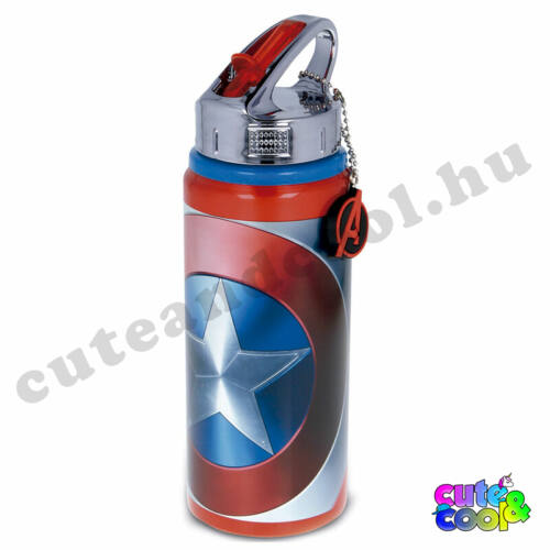 Marvel Amerika kapitány nagyméretű alumínium kulacs
