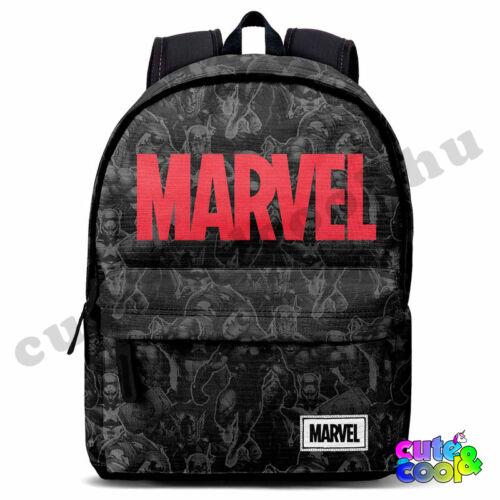 Marvel fekete USB csatlakozós, AUX kimenetes ergonomikus táska