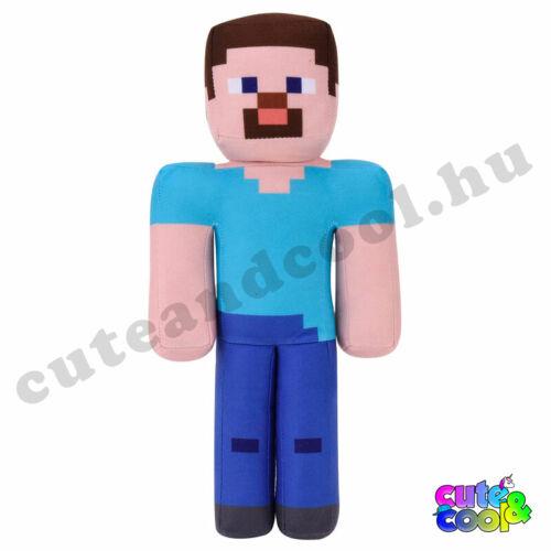 Minecraft Steve nagyméretű plüss 34cm