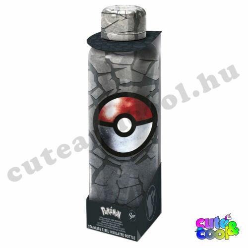 Pokémon Pokélabdás rozsdamentes acél kulacs 515ml