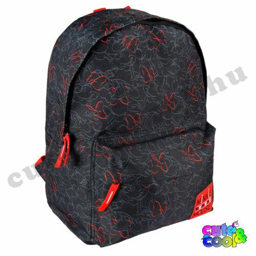 Minnie Mouse fekete-piros hátizsák