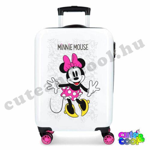 Disney Minnie Mouse Enjoy the day gurulós bőrönd 40x55x20cm