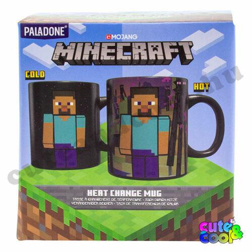 Minecraft Enderman hőre változó bögre