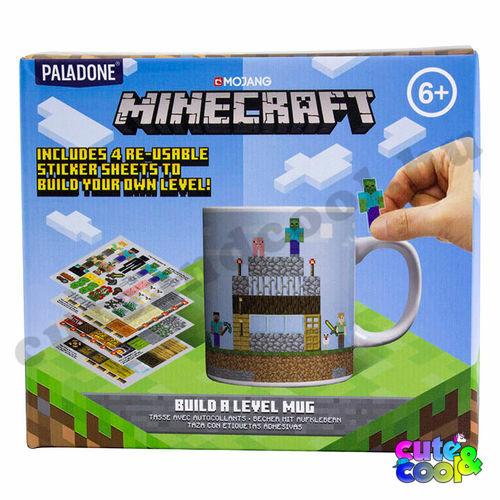 Minecraft építős bögre