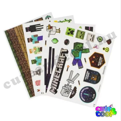 Minecraft matrica csomag