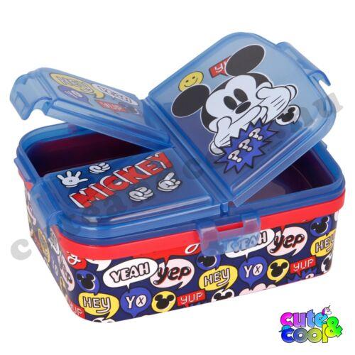 Mickey egeres osztott uzsonnásdoboz