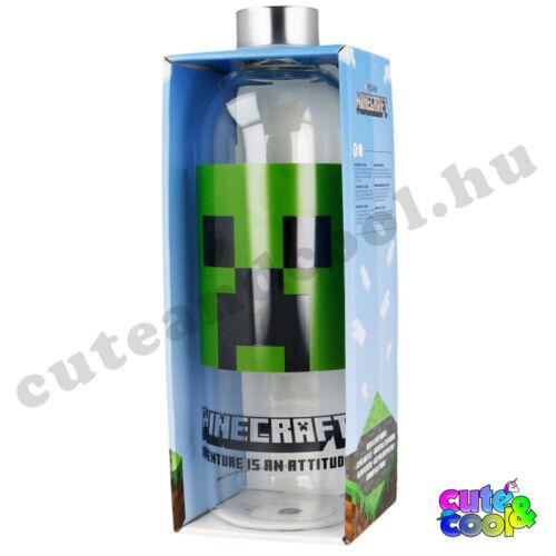 Minecraft 1 literes üveg palack