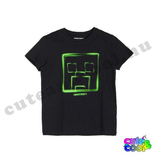 Minecraft Neon Creeper póló