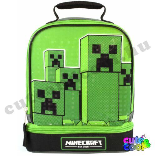 Minecraft Creeper nagy ételhordó táska