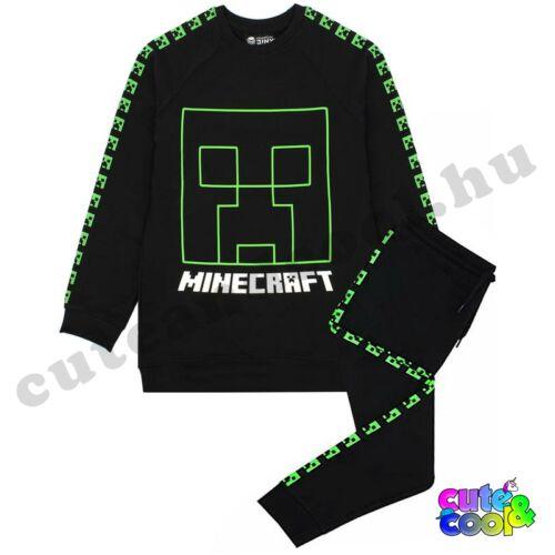Minecraft Creeper pamut melegítő szett