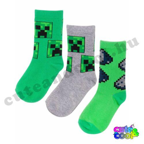 Minecraft Creeper zokni csomag