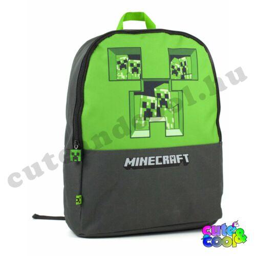 Minecraft pixel Creeper táska