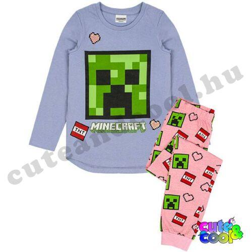 Minecraft Creeper arcos lány pizsama