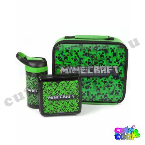 Minecraft 3D Creeper uzsonnázó szett