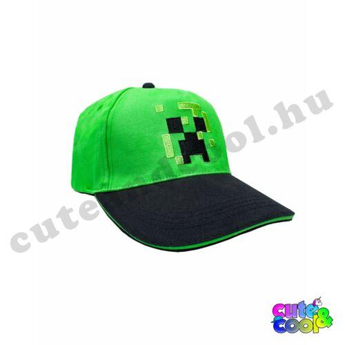 Minecraft Creeper Skin baseball sapka