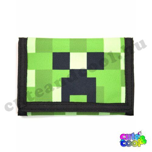 Minecraft Creeper-Face pénztárca