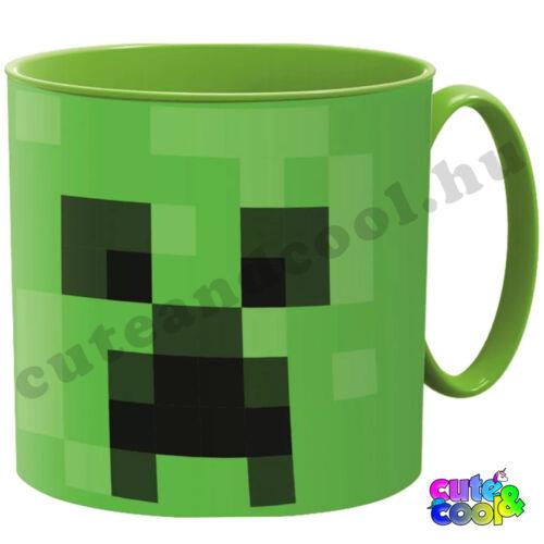 Minecraft Creeper műanyag bögre 265ml