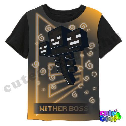 Minecraft Wither boss rövidujjú póló
