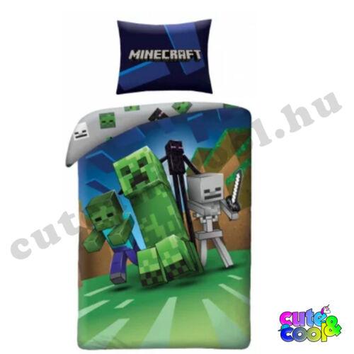 Minecraft szörnyek ágyneműhuzat - Pamut